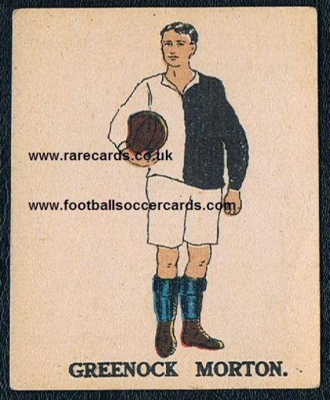 1923 Greenock Morton card